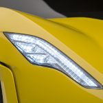Hennessey Venom F5 Front Light Close Up Photo
