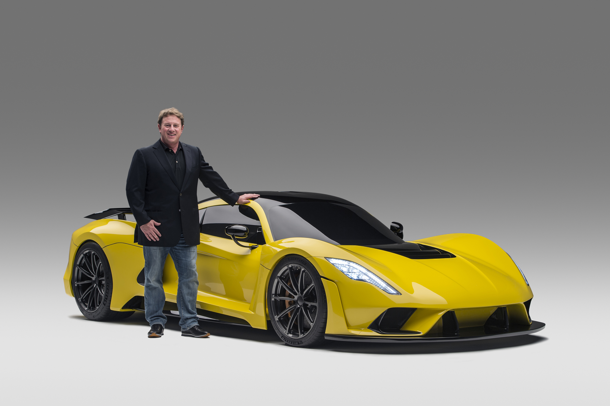 John Hennessey and the all-new Venom F5