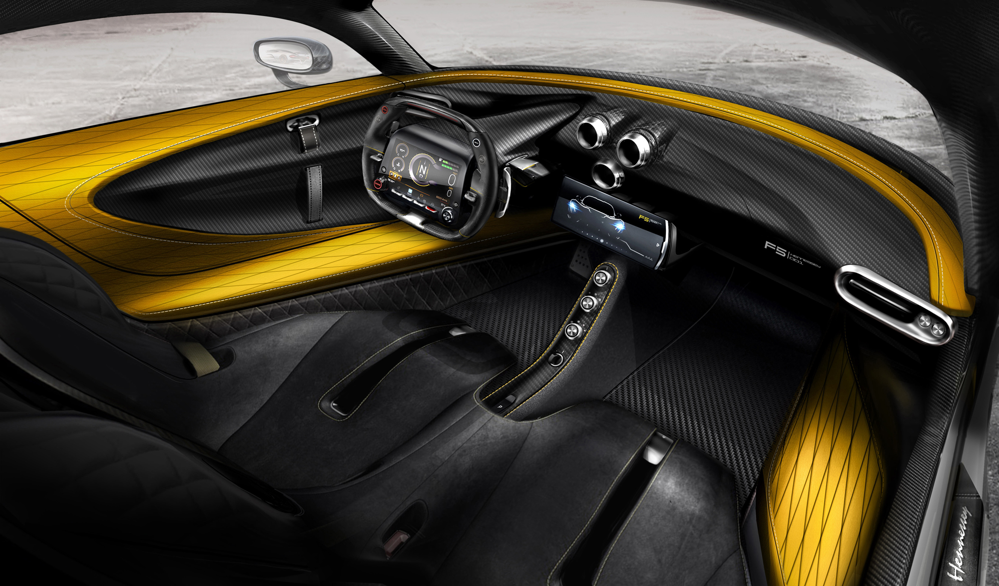 Hennessey Venom F5 Interior Photo