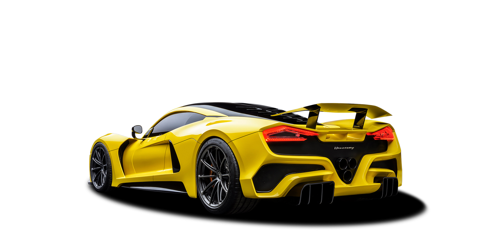 New Hennessey Venom F5 Photo - Rear view