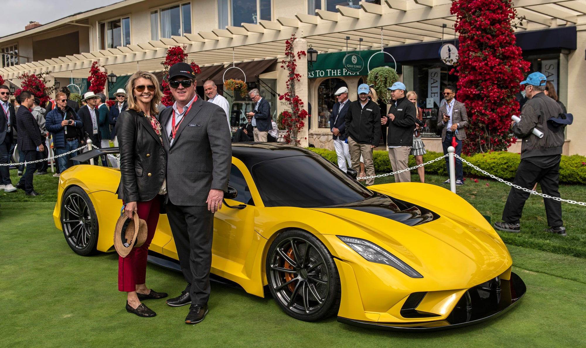 Hennessey Venom F5 at Pebble Beach 2018