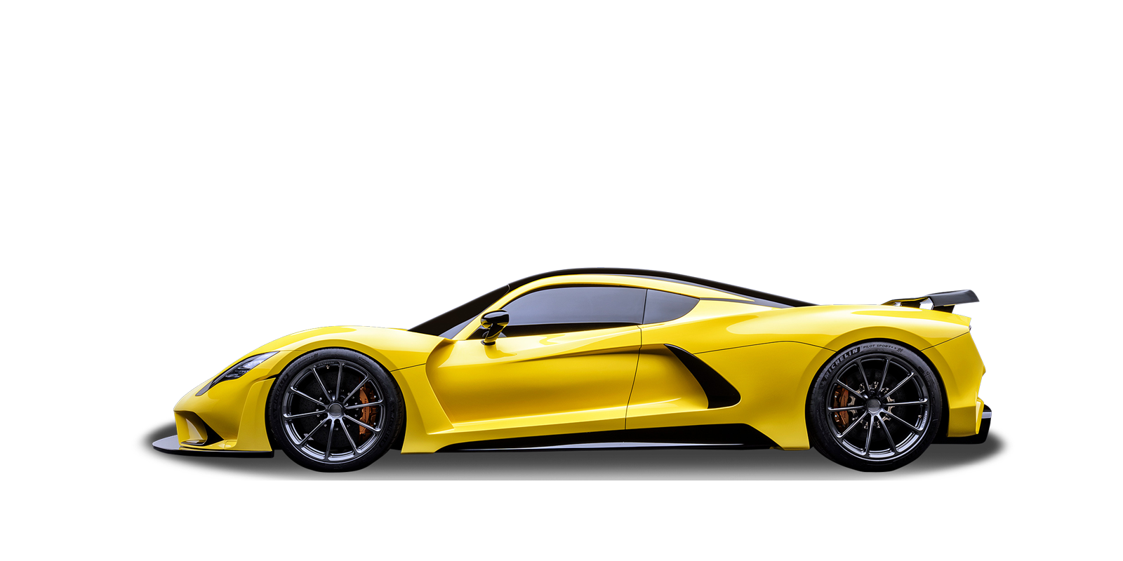 New Hennessey Venom F5 Photo - Side view