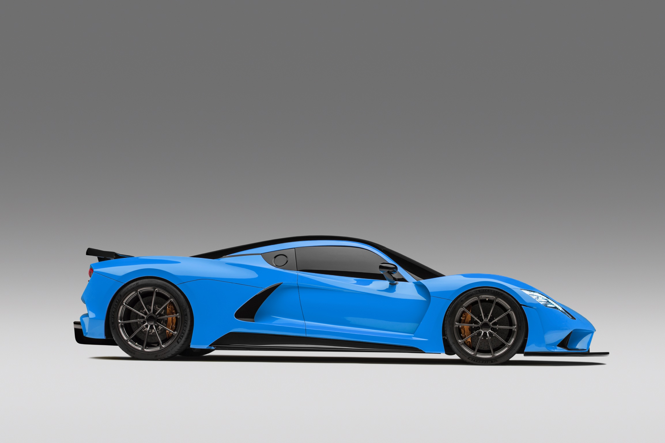 Hennessey Venom F5 Blue 3B Side