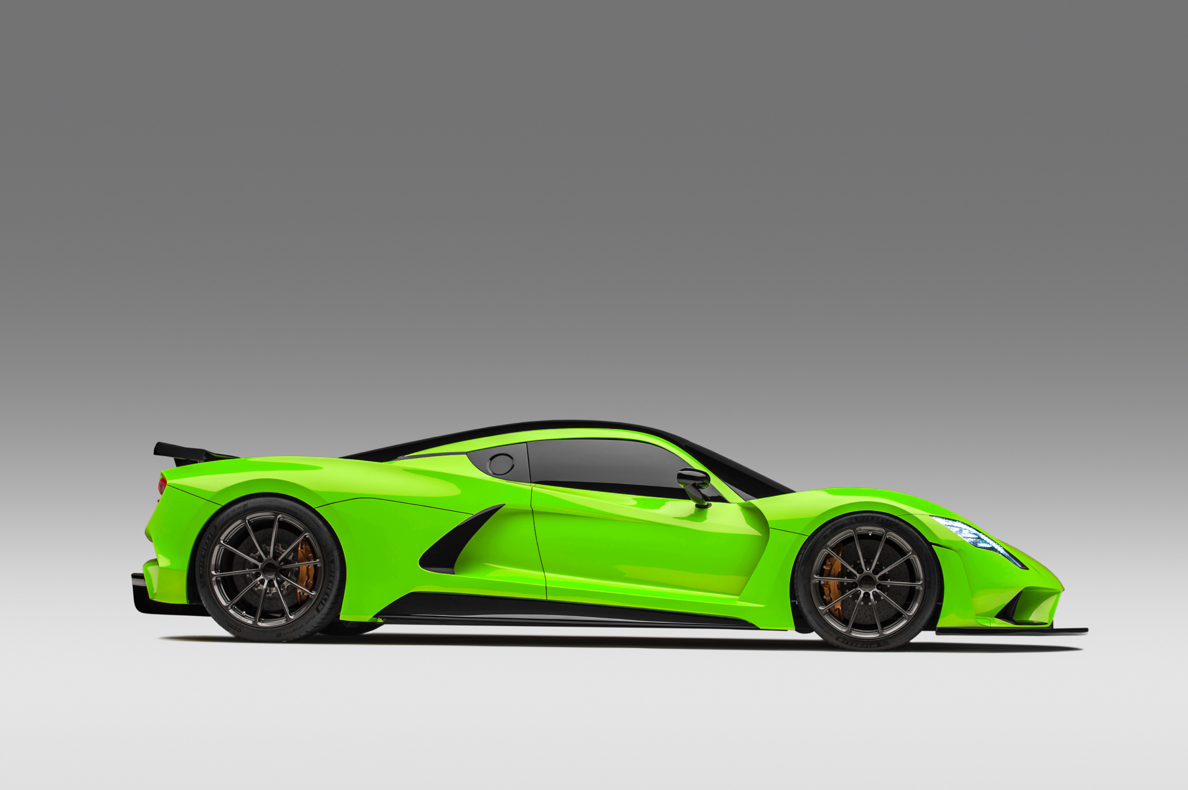 Hennessey Venom F5 Green Side