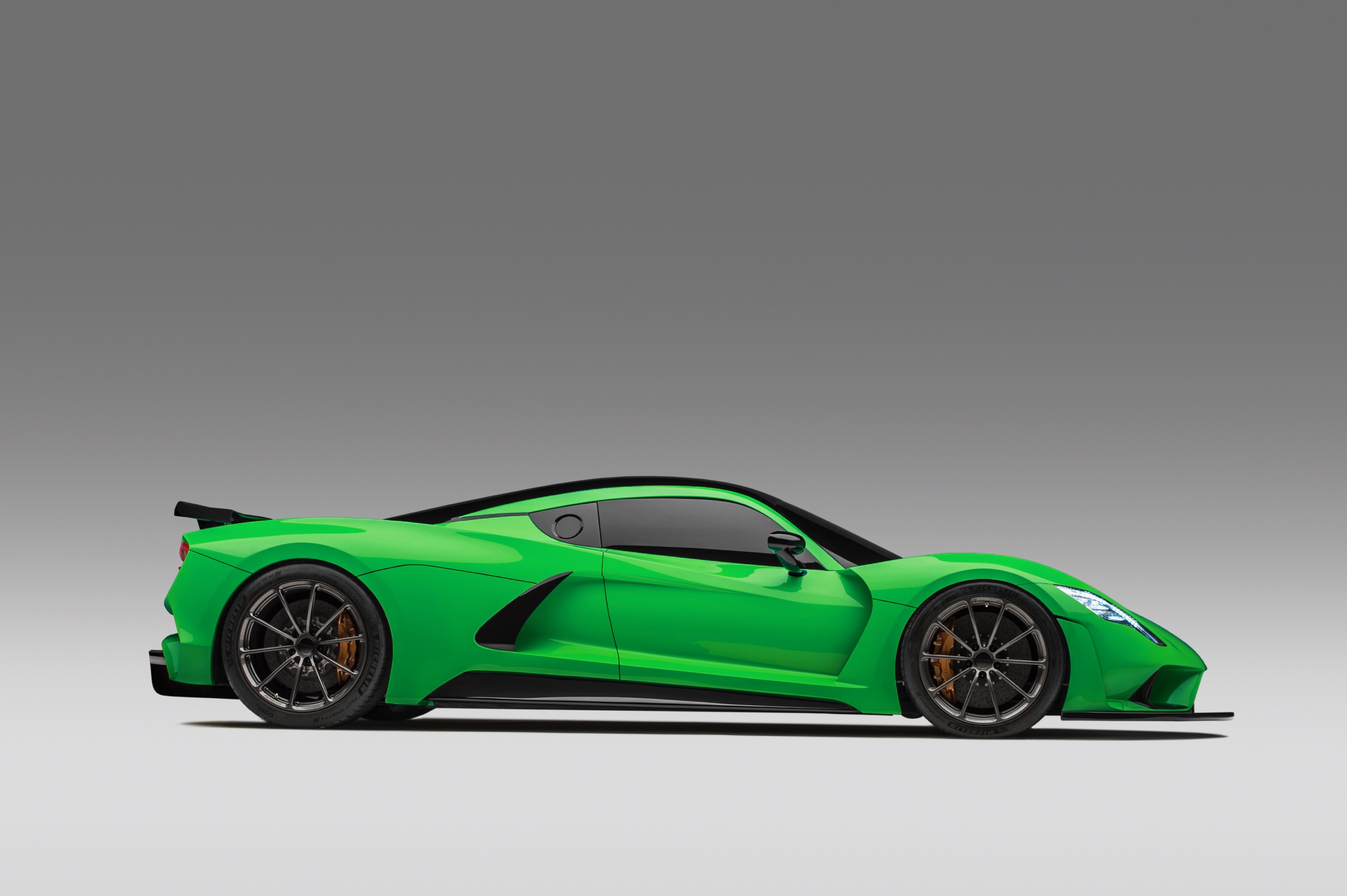 Hennessey Venom F5 Green Dark Side 3