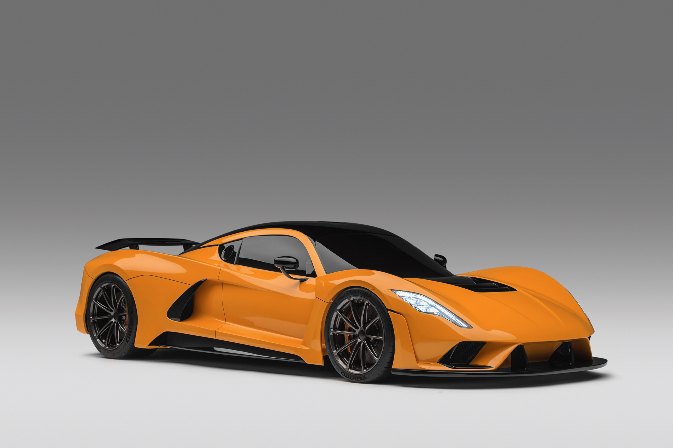 Hennessey Venom F5 Orange