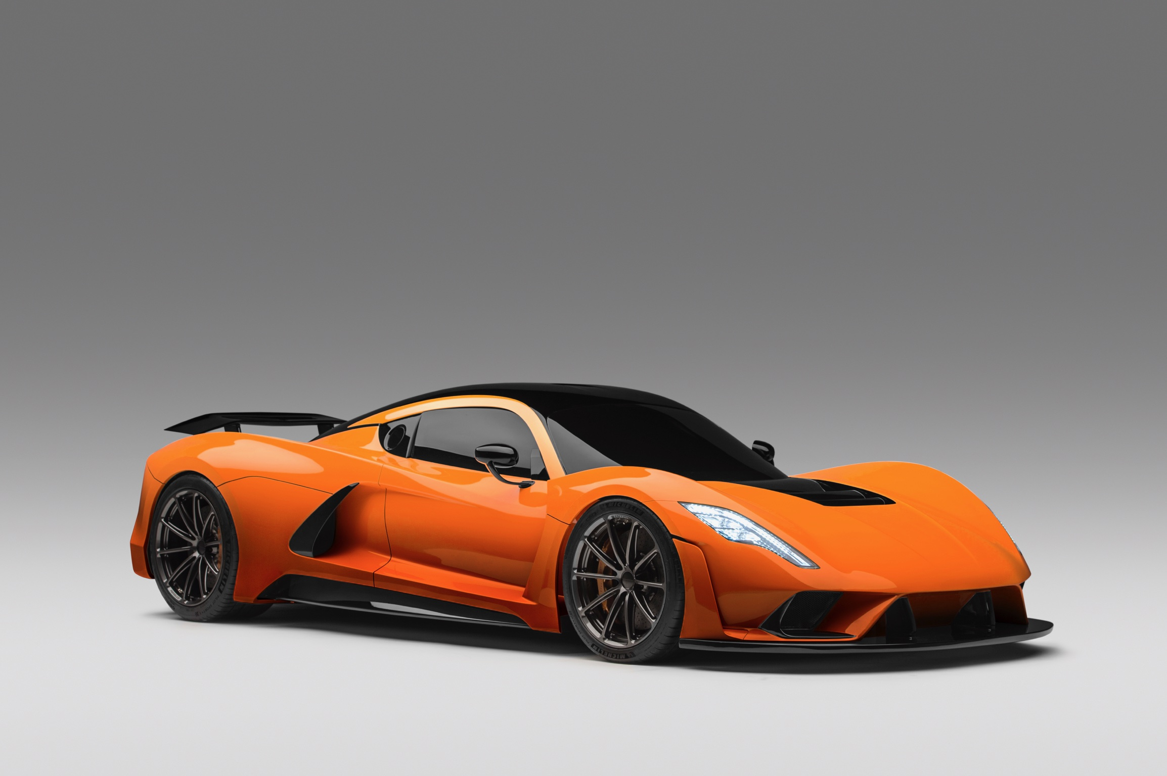 Hennessey Venom F5 in Orange Metallic