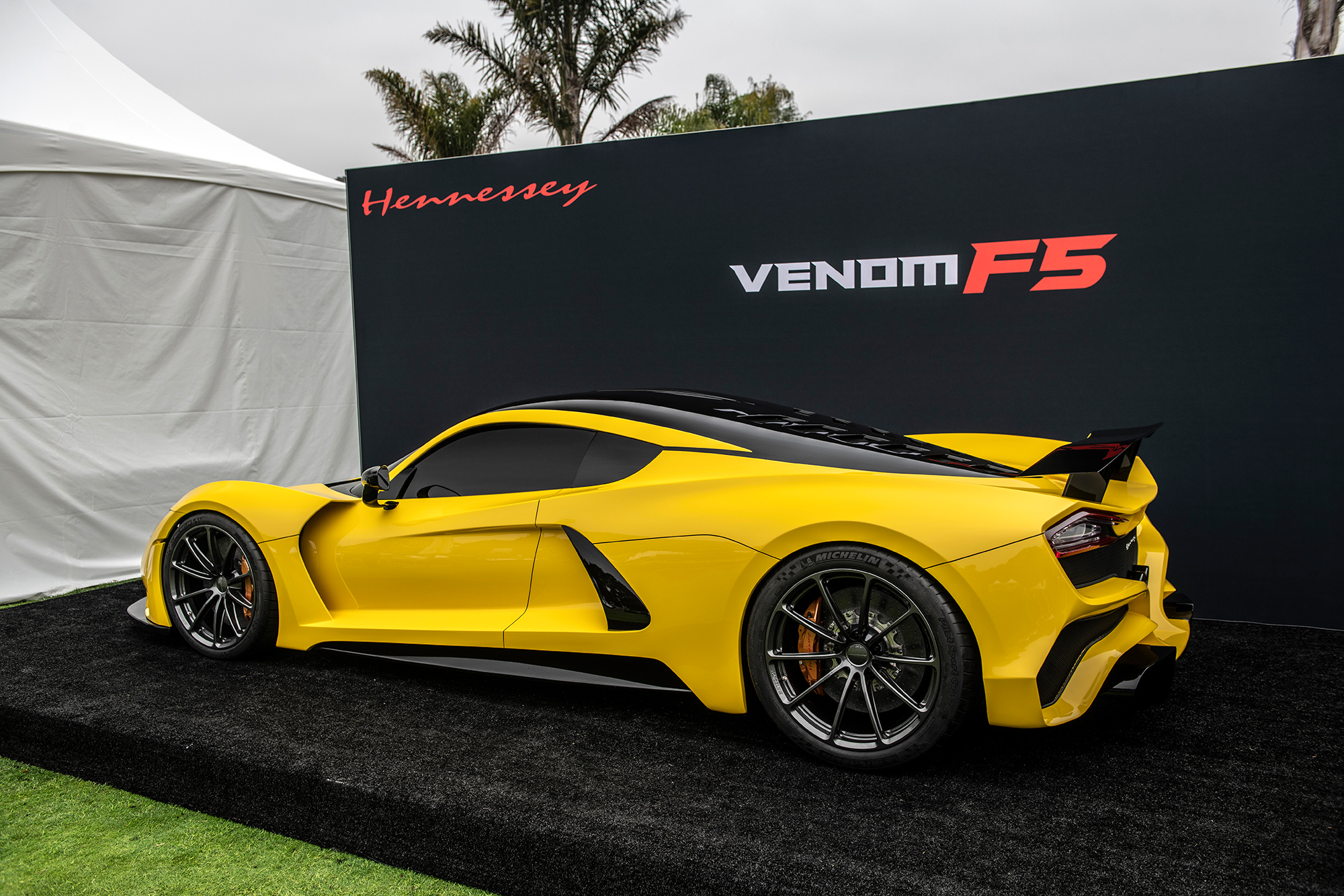 Hennessey Venom F5 at The Quail Motorsports Gathering 2018