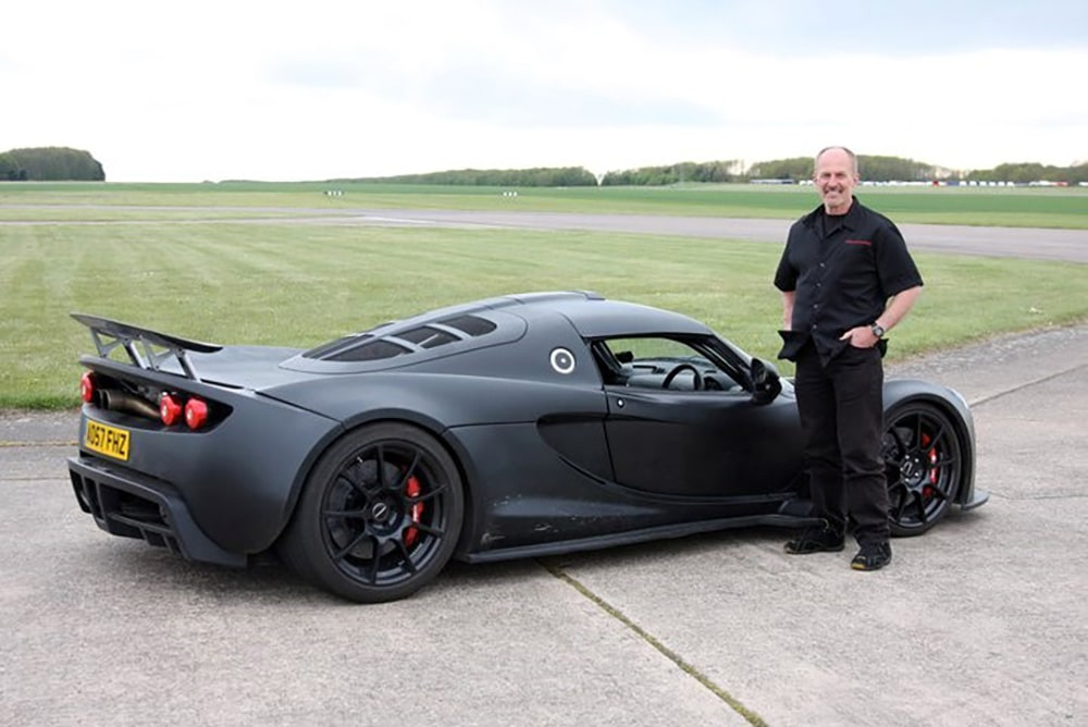 John Heinricy and Venom GT