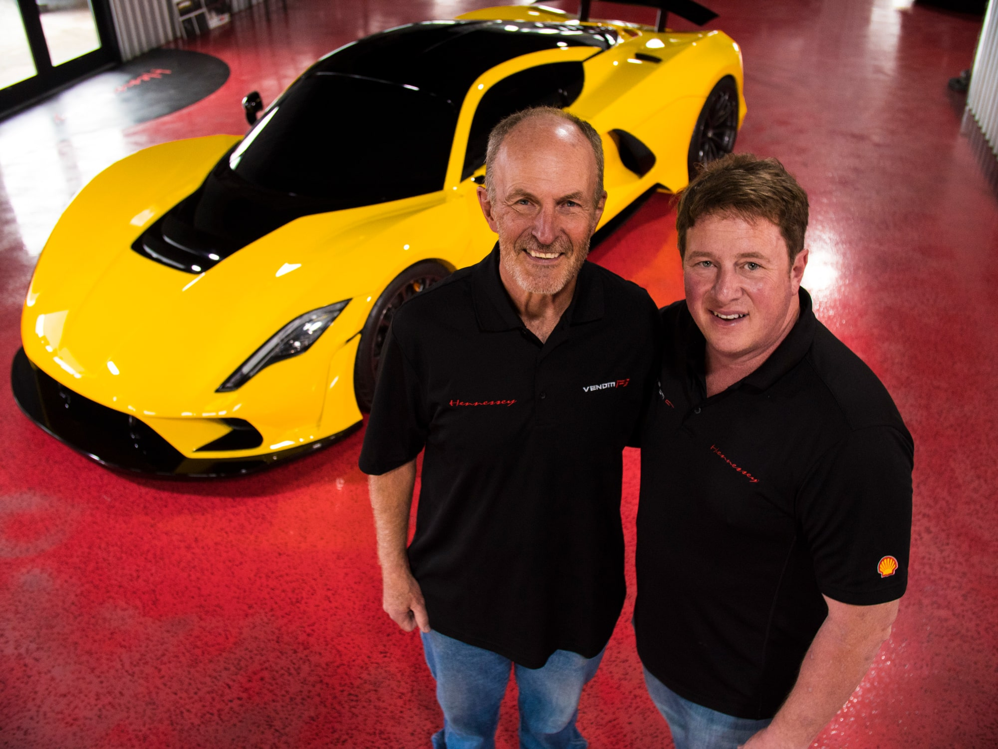 John Heinricy and John Hennessey - Venom F5