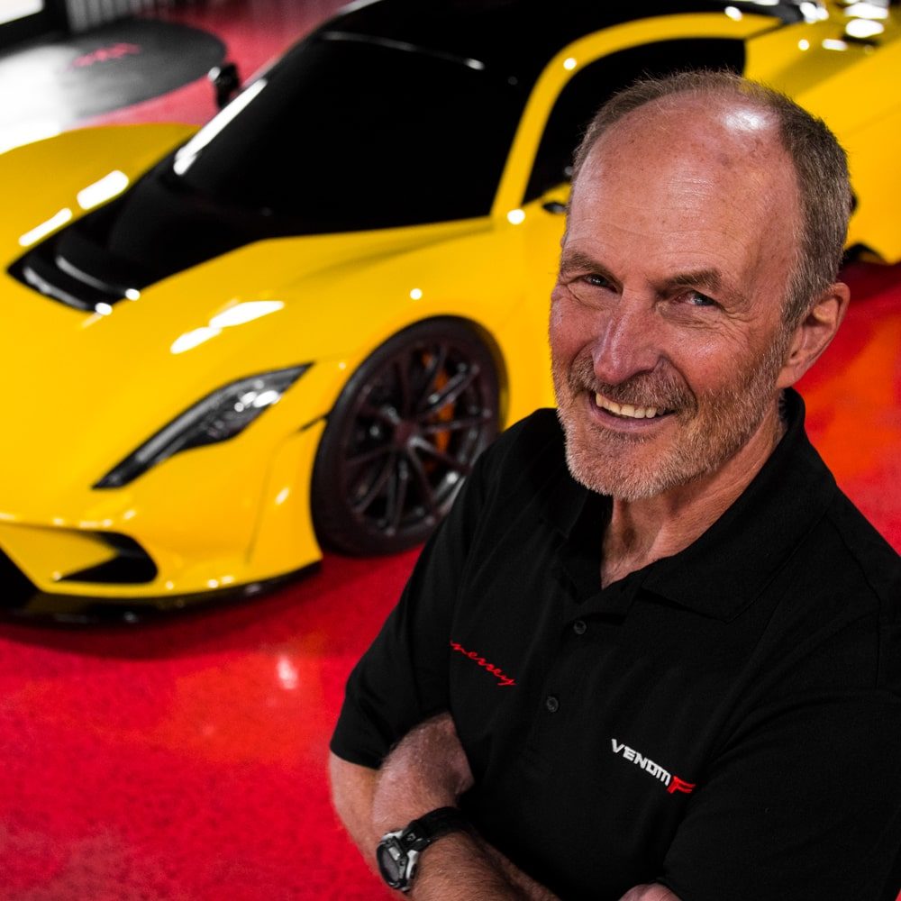 John Heinricy - Chief Engineer Venom F5